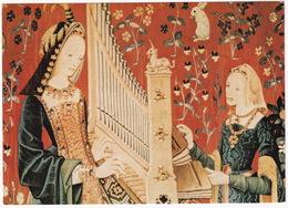 Flämischer Gobelin - Frau Mit Portativ / Woman Playing The Organ / Femme Jouant à L'orgue - (München, 1974) - Andere