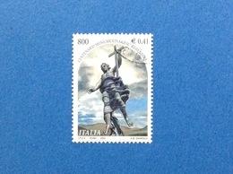 2000 ITALIA FRANCOBOLLO USATO STAMP USED GESU' REDENTORE - 6. 1946-.. Repubblica