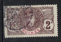 GUINEE           N°     YVERT   34          OBLITERE       ( Ob  5/03 ) - Usados