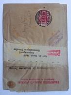 GERMANY 1918 Newspaper Wrapper Frankfurt To Copenhagen Sent Day After Armistice Variouss Cachets - Germania