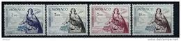 "Monaco Aerien YT 73 75 77 78 (PA) "" Sainte Dévote Patronne-Principauté "" 1960 Neuf** - Posta Aerea"