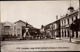 Cp Campinas Brasilien, Largo Bento Querino II, Estatua A Carlos Gomes - Autres