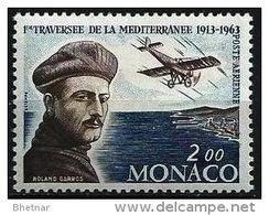 """Monaco Aerien YT 81 (PA) """" Roland Garros """" 1962 Neuf** - Posta Aerea"""
