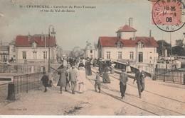 50 - CHERBOURG - Carrefour Du Pont Tournant Et Rue Du Val De Saires - Cherbourg