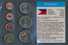 Philippines Stgl./unzirkuliert Kursmünzen Stgl./unzirkuliert 1995-2010 1 Sentimo Jusqu'à Ce Que 10 Peso (903 (9031377 - Filipinas