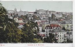 AK 0294  Lausanne Vu De Montriond Um 1910-20 - VD Waadt