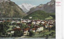 AK 0294  Interlaken Mit Jungfrau Um 1905 - BE Bern