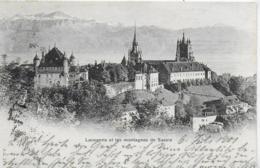 AK 0294  Lausanne Et Les Montagnes De Savoie Um 1901 - VD Waadt