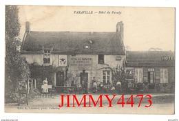 CPA - VARAVILLE - Hôtel Du Paradis, Rue Bien Animée ( Canton De Cabourg ) 14 Calvados - Edit. A. Lemaire - Cabourg