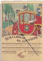 Sur La Route De Louviers (27) Carrosse - Belle Illustration Et Chanson - Louviers