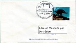 Enveloppe Évènement Des États-Unis (01-04-90) - McKinley Stamp Club - Animaux Préhistoriques (Stégosaure) - FDC