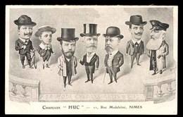 Chapeaux HUC Nimes, Carte Publicitaire - Nîmes