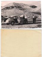 1950s Original 11x7 Photo Vintage Soviet Cars Man Male GAZ M20 Pobeda Transport Russia USSR (1399) - Automobile