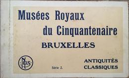 Carnet 12 CPA, Musées Royaux Du Cinquantenaire , Bruxelles, Antiquités Classiques, Série 2, éditions Nels - Musei