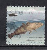 2019 AUSTRALIA Patagonian Toothfish (Dissostichus Eleginoides) VERY FINE POSTALLY USED $1 Sheet Stamp - Oblitérés