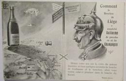 Kaiser Wilhelm II., Comment Le Bouchon De Liege, Champagner (26734) - Personen