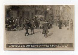 Trento - 4.11.1918 - Distribuzione Del Primo Giornale L'Arena - (FDC14584) - Trento