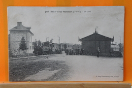 Bréal-Sous-Montfort - La Gare - RARE - Francia