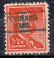 USA Precancel Vorausentwertung Preo, Locals Kansas, Pendennis L-1 HS - Vereinigte Staaten