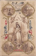 JEANNE D'ARC ,2 Documents , Carte Postale ,et Religieux   (lot 132) - Documentos Antiguos