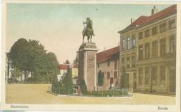Breda 1943; Kasteelplein - Gelopen. (Ella - Breda) - Breda