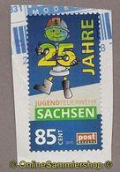 Privatpost - PostModern -Feuerwehr, Fire - 25 Jahre Jugendfeuerwehr Sachsen - Feuerwehr