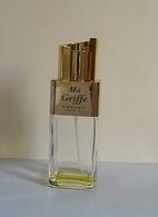 """Ancien Flacon Vaporisateur """"MA GRIFFE """" De CARVEN   Parfum De Toilette 100 Ml  VIDE/EMPTY - Flacons (vides)"""