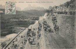 INDOCHINE - TONKIN -HONGAY- Exploitation Des Mines De Charbon à Ciel Ouvert - Viêt-Nam