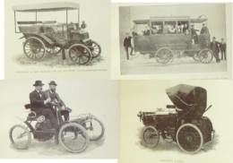 """LOCOMOTION AUTOMOBILE """"REVUES LE CHAUFFEUR + VEHICULES MECANIQUES 1839-1899-RARE - Books, Magazines, Comics"""