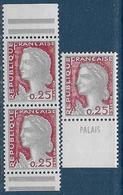 Decaris N° 1263d **  Et 1263c ** - 1960 Marianne De Decaris