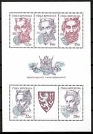 Czech Republic 2006 Chequia / Kings Premyslid Dynasty MNH Reyes / Cu14236  34-7 - Familias Reales