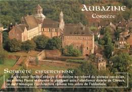 19 - Aubazine - L'Abbaye - Vue Aérienne - Carte Neuve - Voir Scans Recto-Verso - France