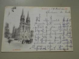 BOUCHES-DU-RHONE  MARSEILLE LES REFORMES  PRECURSEUR VOYAGEE LE 26/08/1899 - Canebière, Centre Ville