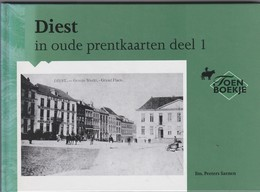 DIEST-IN OUDE PRENTKAARTEN-DEEL 1-TOEN-BOEKJE-2000-NIEUWSTAAT+-76 PAGINAS MET AFDRUKKEN VAN ZICHTKAARTEN-ZIE DE 5 SCANS - Diest