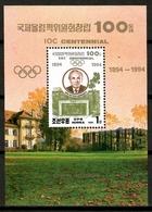 Korea 1994 Corea / IOC Centennial Olympics Committee Samaranch MNH Centenario COI Olimpiadas / Cu12706  40-31 - Olympische Spiele
