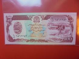 AFGHANISTAN 100 AFGHANIS 1979-1991 PEU CIRCULER/NEUF - Afghanistan