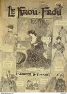 LE FROU FROU-1904-170-LES FETES-ETRENNES-ST SYLVESTRE-WILLY VALLET - Bücher, Zeitschriften, Comics
