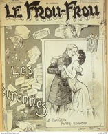 LE FROU FROU-1904-220-LES ETRENNES-ABEILLE SPAHN RIVEREND GUYDO CARDONA BARAT ARMENCOL SANDY HOOK - Bücher, Zeitschriften, Comics