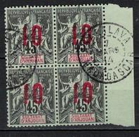 ANJOUAN            N°     YVERT   27 X 4    ( 2 )     OBLITERE       ( Ob  5/04 ) - Anjouan (1892-1912)