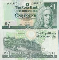 GB - Schottland Pick-Nr: 351e (2001) Bankfrisch 2001 1 Pound - [ 3] Schottland