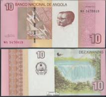 Angola Pick-Nr: 151B Bankfrisch 2012 10 Kwanzas - Angola