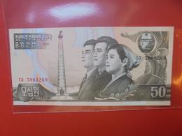 COREE(NORD) 50 WON 1992 PEU CIRCULER/NEUF - Korea, North