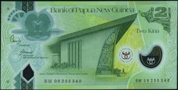 PAPUA NEW GUINEA - 2 Kina 2008 {35th Anniversary} {Polymer} UNC P.35 - Papoea-Nieuw-Guinea