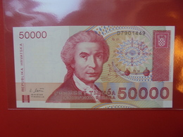CROATIE 50.000 DINARA 1993 PEU CIRCULER/NEUF - Croacia