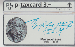 SUISSE - PHONE CARD - TAXCARD-PRIVÉE ***  PARACELSUS *** - Schweiz