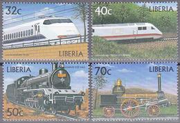 LIBERIA    SCOTT NO. 1477-80    MNH      YEAR  1999 - Liberia