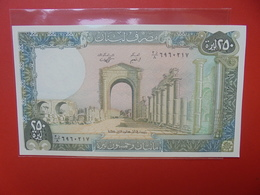 LIBAN 250 LIVRES 1978-88 PEU CIRCULER/NEUF - Libanon
