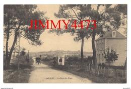 CPA - BARROU - Le Bout Du Pont Bien Animé, Attelage Sur La Route ( Arr. De Loches ) 37 Indre Et Loire - Other Municipalities
