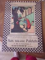 Protege Cahier Le Corbeau Et Le Renard Aux 100.000 Paletots Caudry Nord - Publicidad