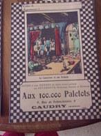 Protege Cahier Le Laboureur Et Ses Enfants Aux 100.000 Paletots Caudry Nord - Publicidad